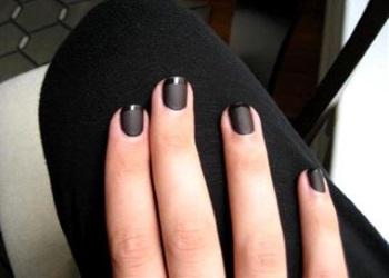 маникюр гель лак фото с рисунком на короткие ногти