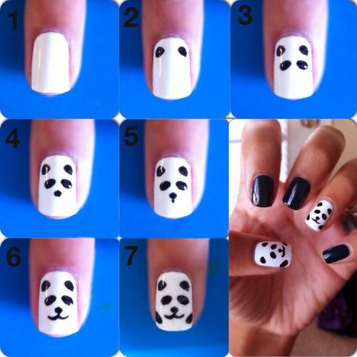 Как можно просто сделать рисунки на ногтях 337